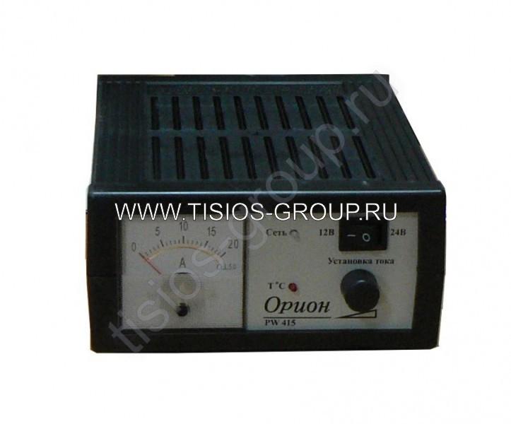 """Фото Зарядное устройство  """"Орион  """" PW-415 автомат 0-15À,12/24Â,линейный амперметр - фотографии."""